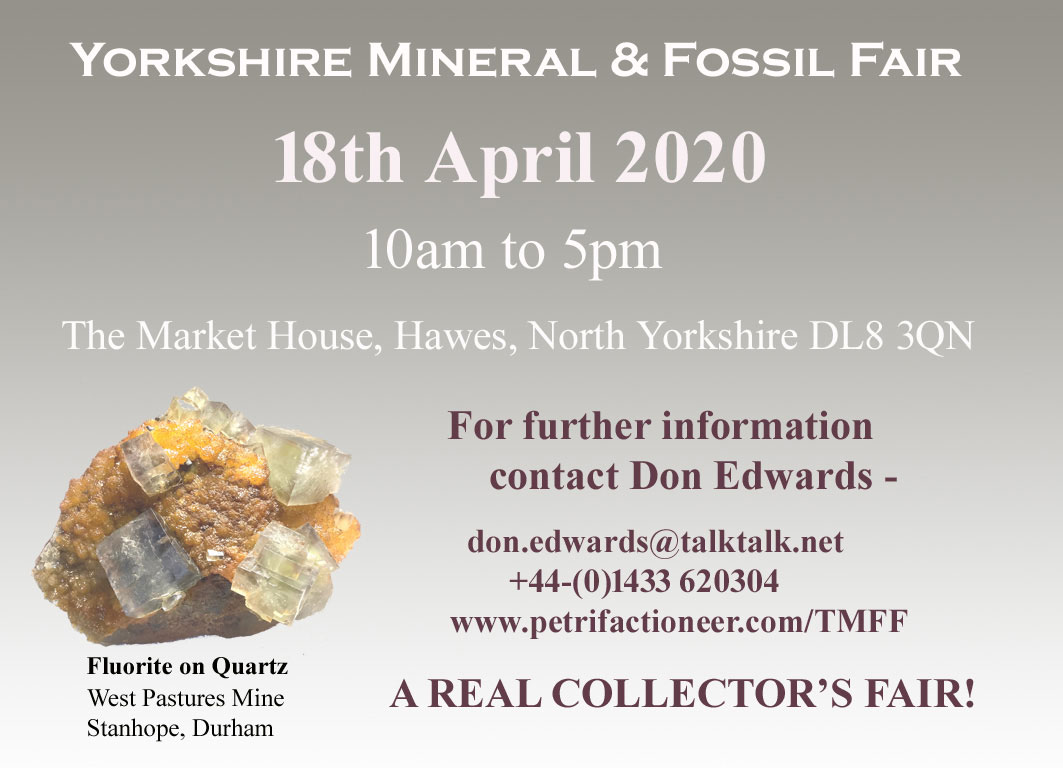 Yorkshire Mineral & Fossil Fair
