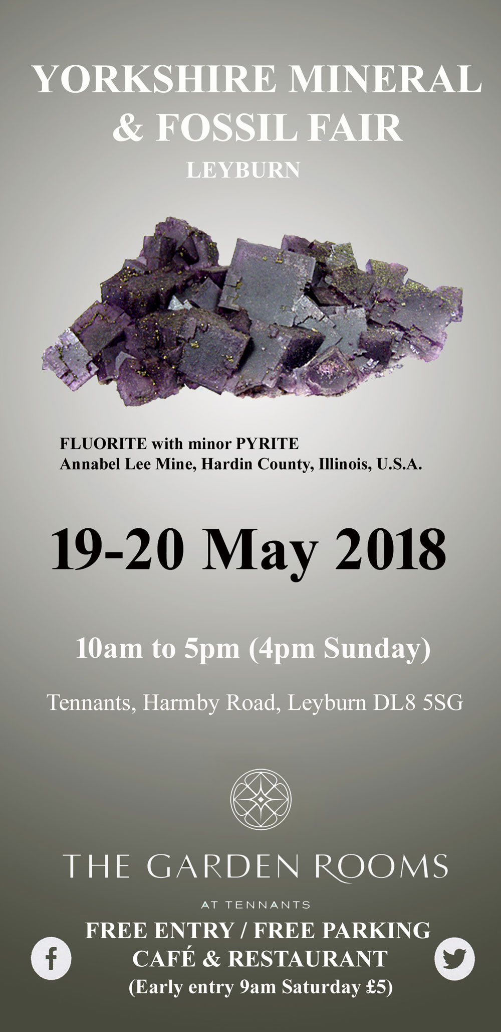 yorkshire mineral and fossil fair